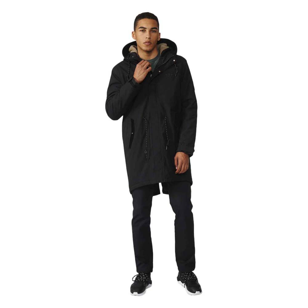 adidas originals Quilt Fur Parka kup i oferty, Dressinn Kurtki
