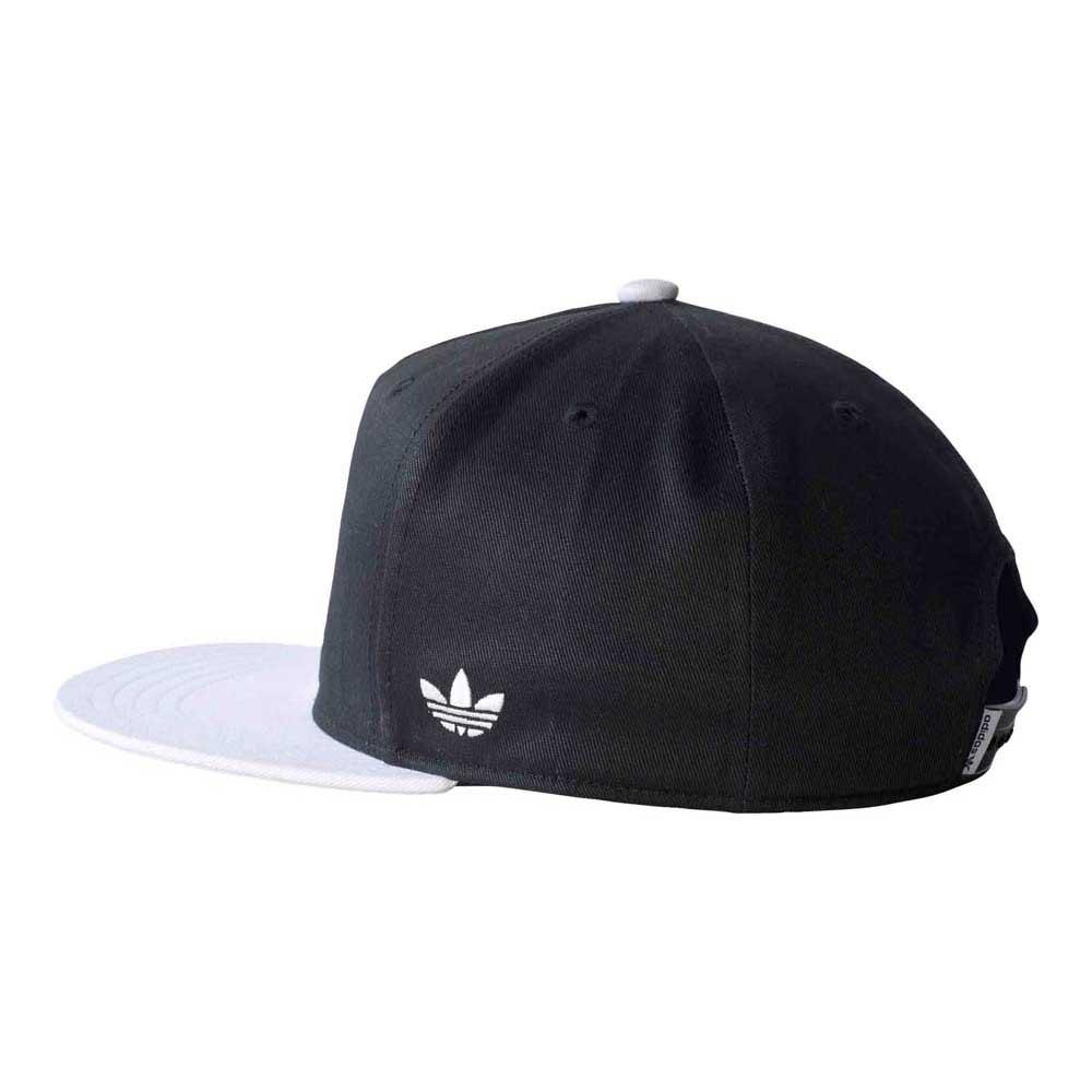 9a4e26c5 ... uk adidas originals snapback flatbrim cap blackwhite fa67c d6b2a