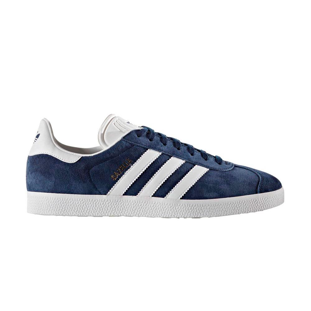 Adidas-originals Gazelle EU 41 1/3 Collegiate Navy / White / Gold Met