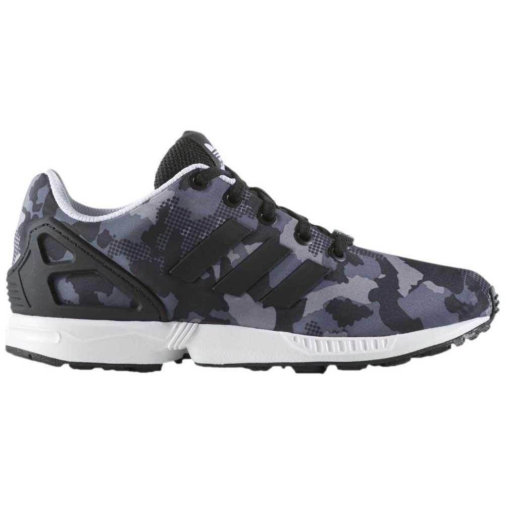 the latest ad5ec bed72 adidas originals Zx Flux J buy and offers on Dressinn