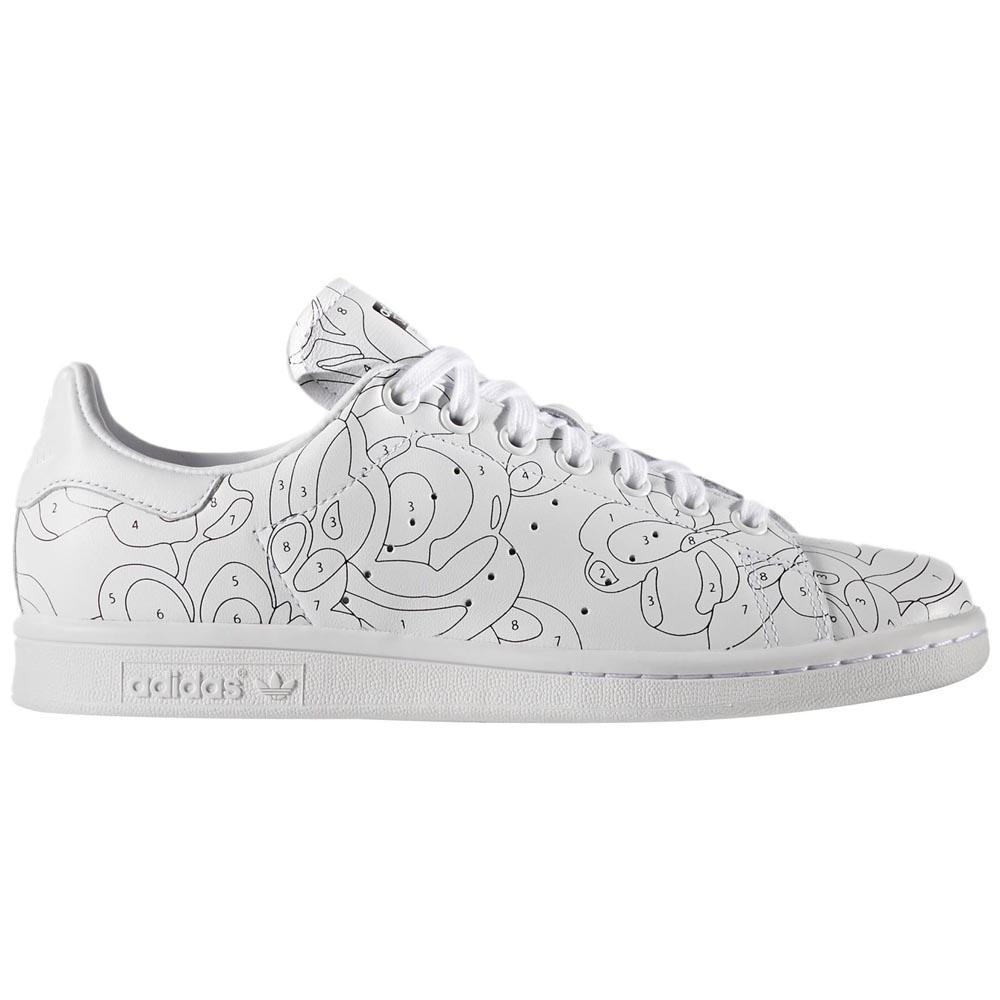 adidas originals stan smith ro w ftwr white ftwr white core black dressinn. Black Bedroom Furniture Sets. Home Design Ideas