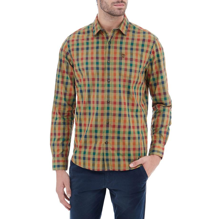 Timberland Checked Printed Dobby Shirt