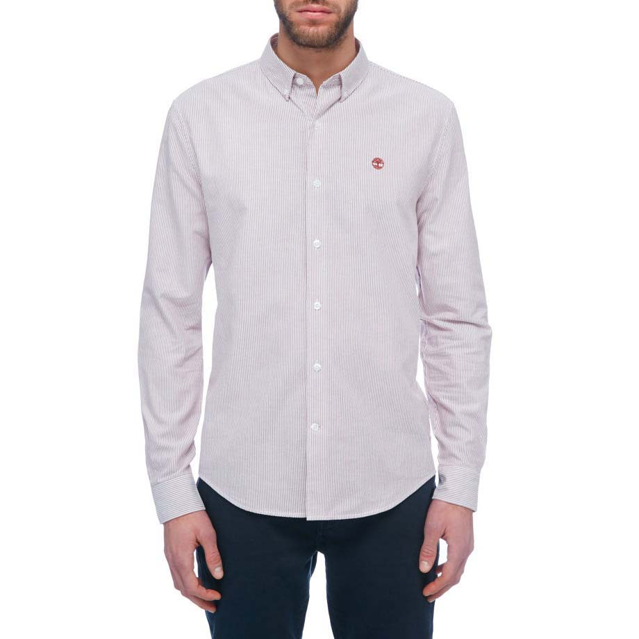 TIMBERLAND Ls Rattle River Oxford Stripe Shirt
