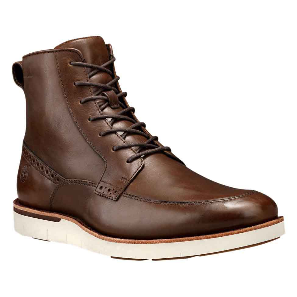 TIMBERLAND Preston Hills 6 in Moc Toe Side Zip Boot