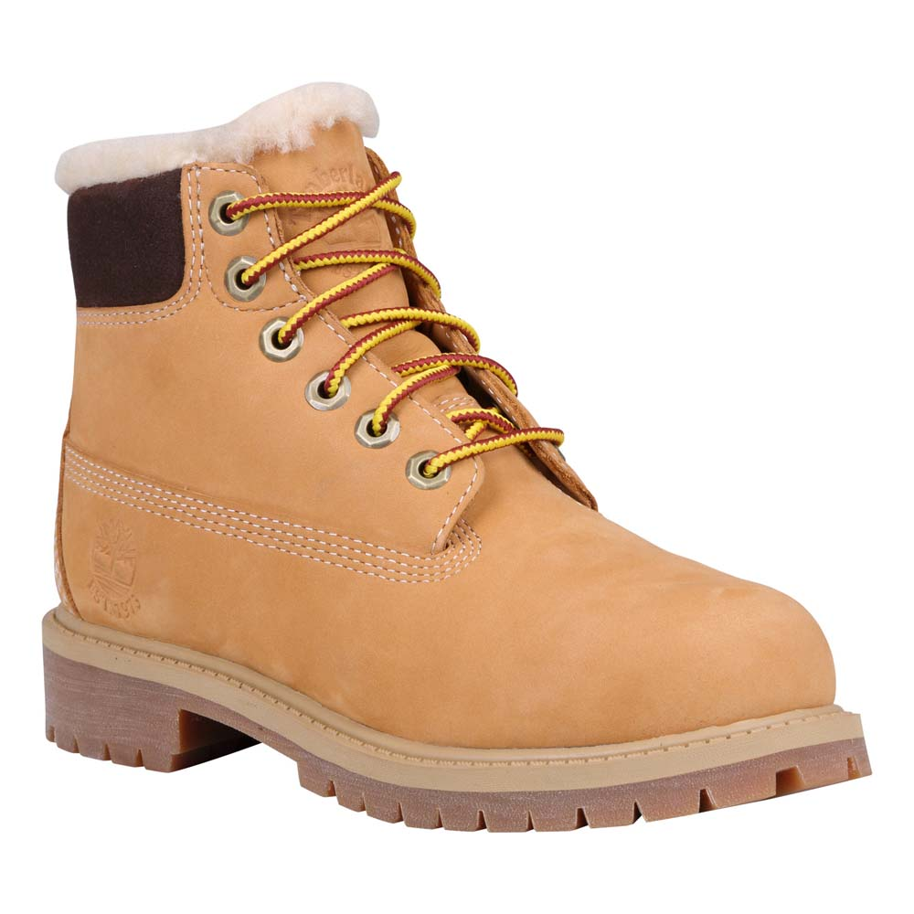 TIMBERLAND 6 in Premium Waterproof Shearling Lined Boot Youth