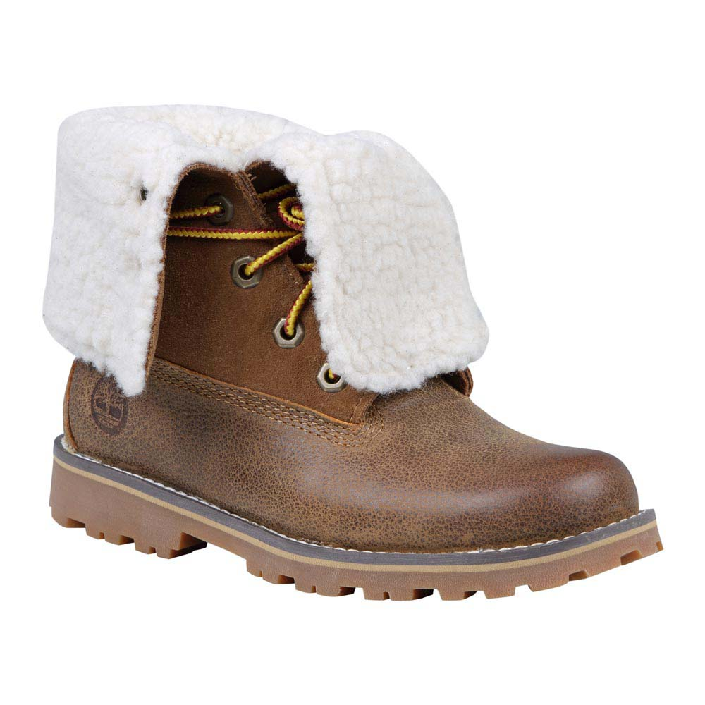 Timberland Authentics 6 in Waterproof Shearling Boot Youth