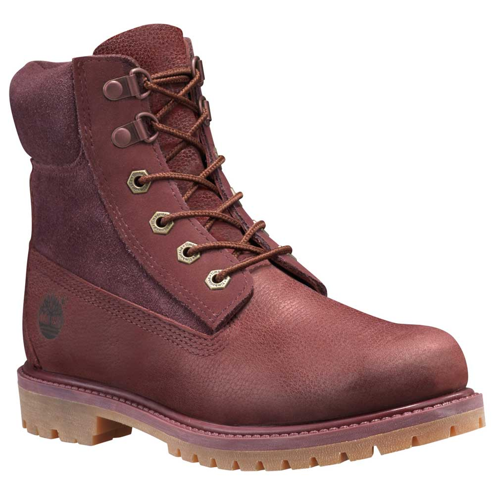 Timberland 6 in Premium Double D Ring Waterproof Boot Wide