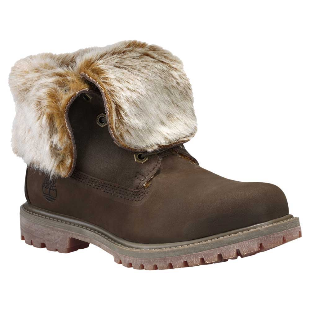 Timberland Authentics Faux Fur Fold Down Wide