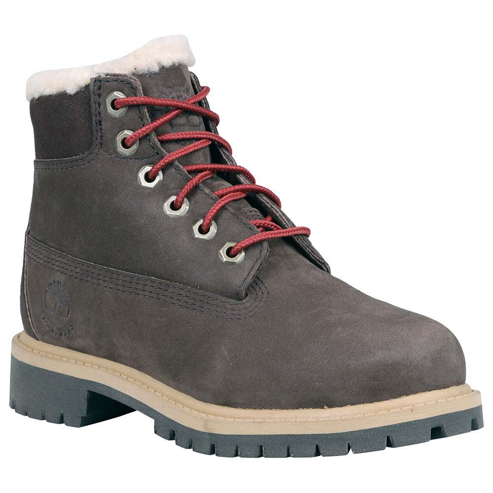 TIMBERLAND 6 in Waterproof Shearling Lined Boot Youth