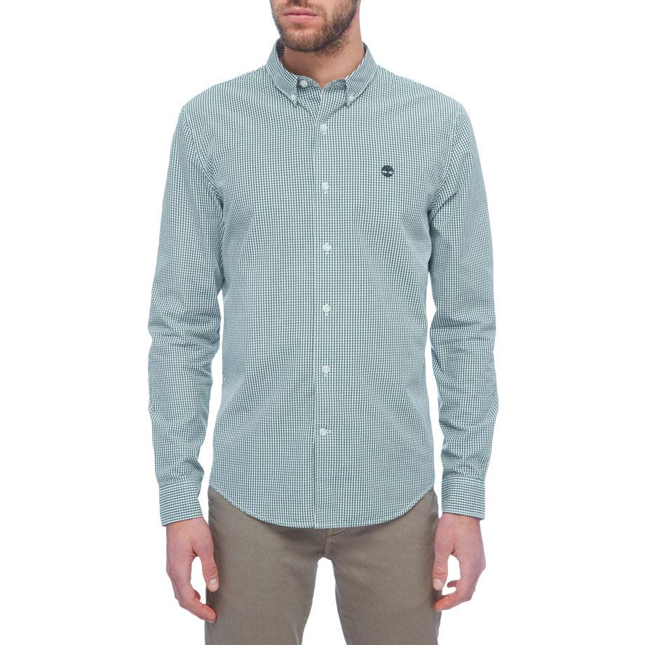 Timberland Ls Slim Rattle River Gingham Shirt