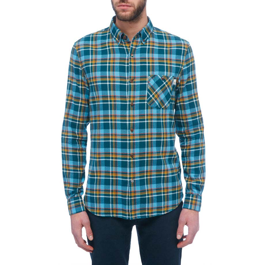 Timberland Ls Flannel Contemporary Plaid Shirt