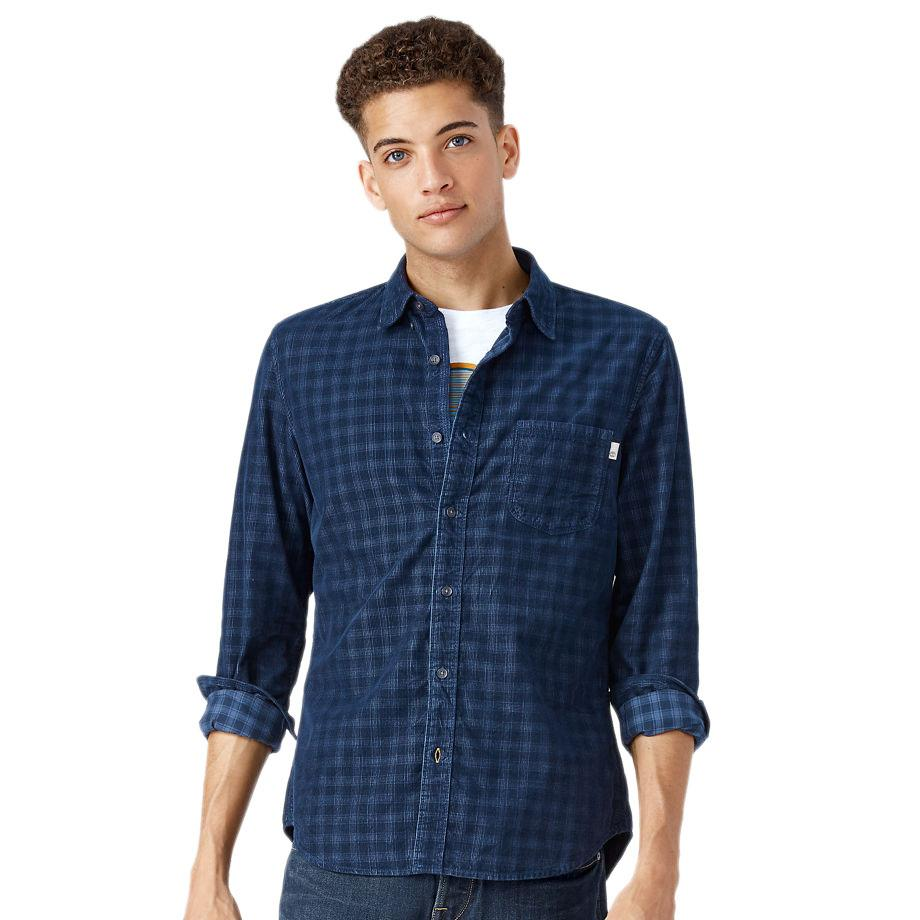Timberland Ls Slim Fine Cord Solid Shirt