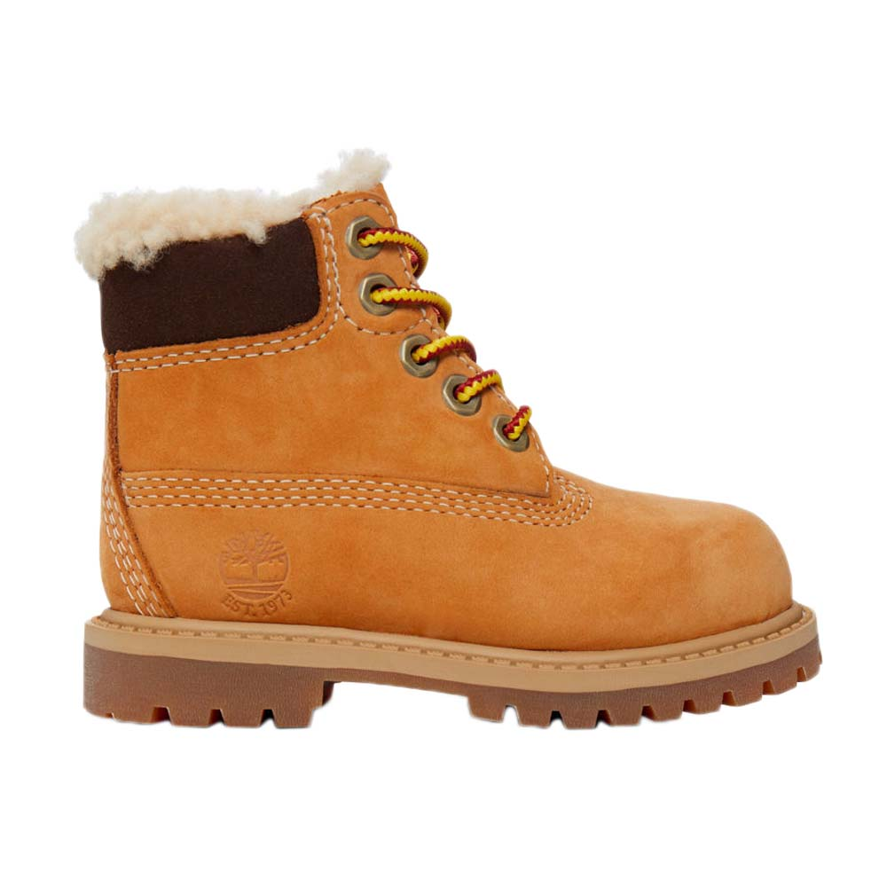 Timberland 6 in Premium Waterproof Shearling Lined Boot Toddler