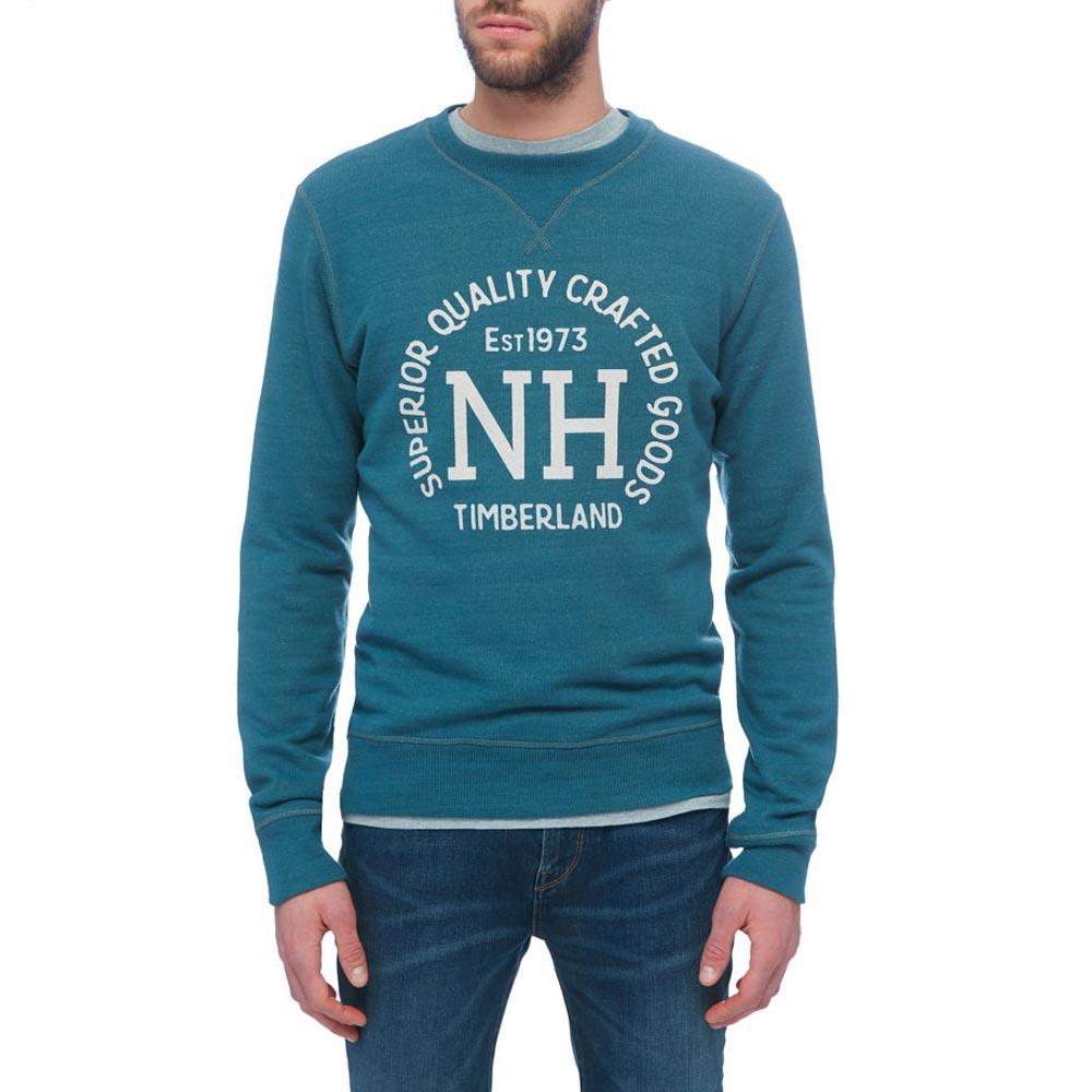 TIMBERLAND Shedd River Graphic Wool Crew Neck