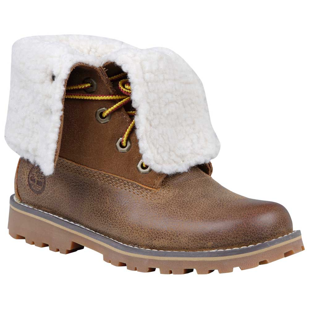 Timberland Authentics 6 in Waterproof Shearling Boot Junior
