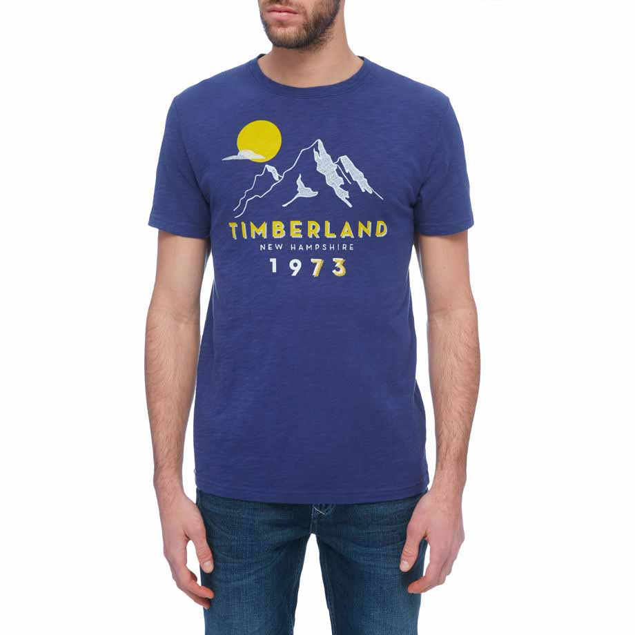 Timberland Ss Multigraphic Heritage Tee