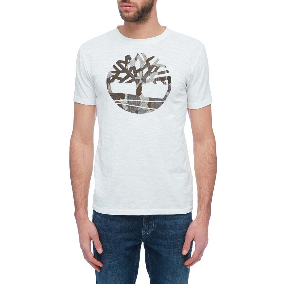 TIMBERLAND Ss Kennebec River Camo Tree Tee