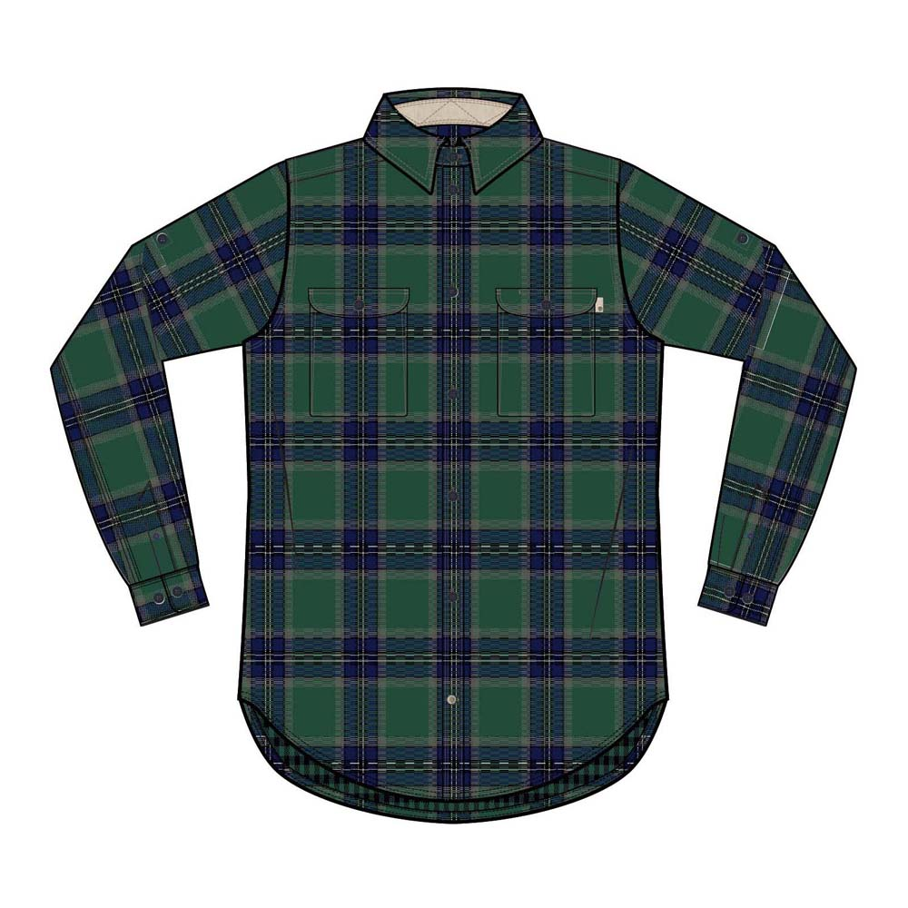 TIMBERLAND Ls Double Layer Plaid Shirt