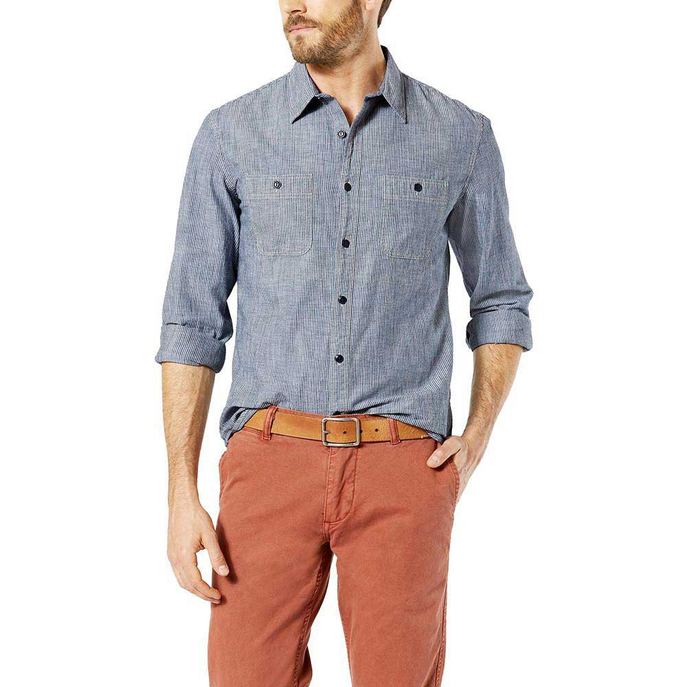 Dockers Ls Chambray Shirt Fitted