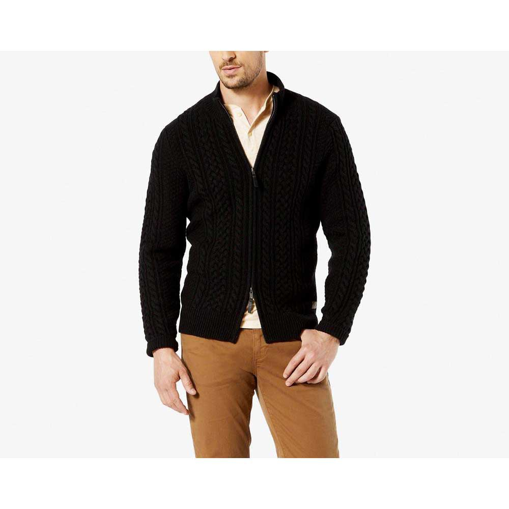 Dockers Cable Ful Zip Sweater