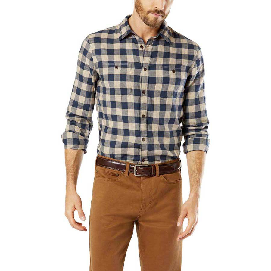 Dockers wrinkle twill shirt ls buy and offers on dressinn for Dockers wrinkle free shirts