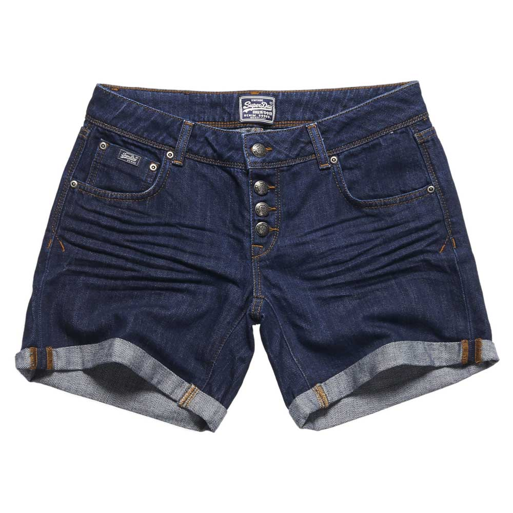 Superdry Button Front Boyfriend Short