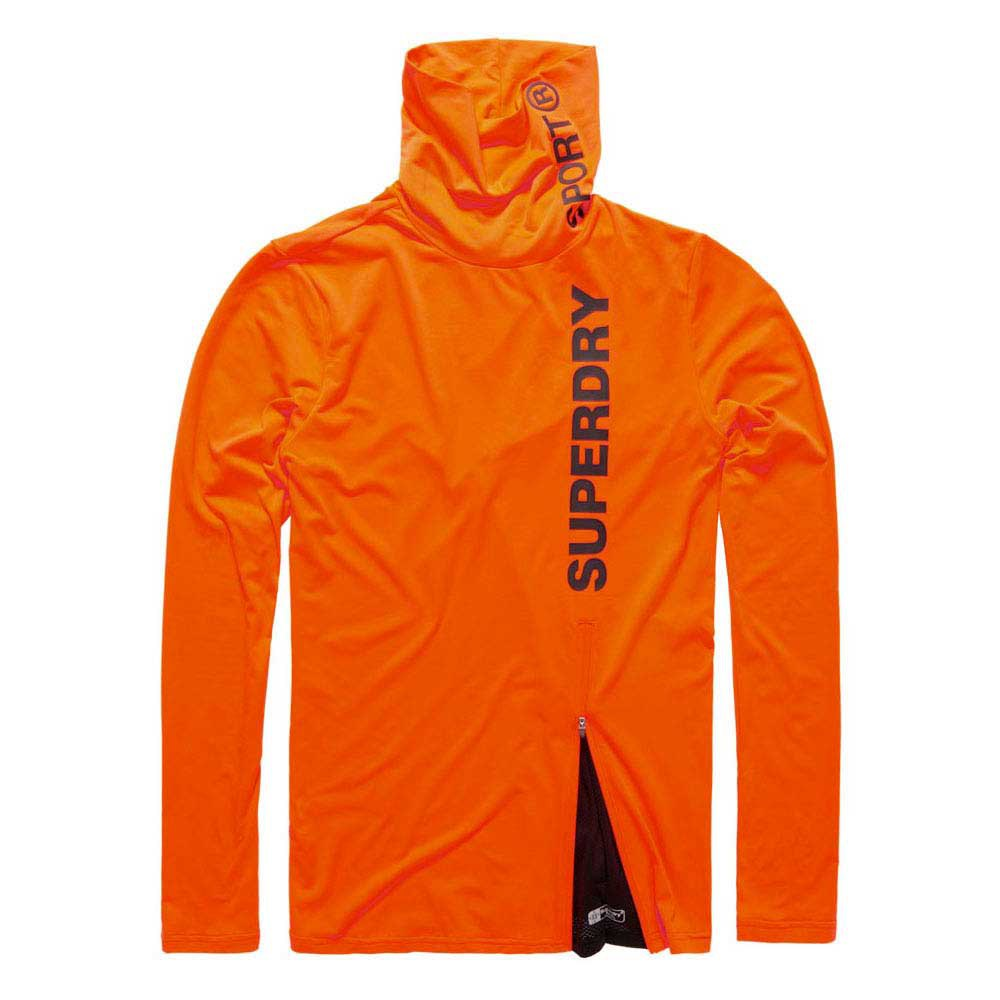 Superdry Gym Sport Runner Funnel Neck
