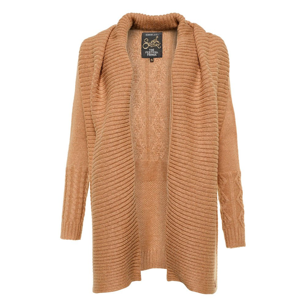 Superdry Haden Cable Waterfall Cardi buy and offers on Dressinn
