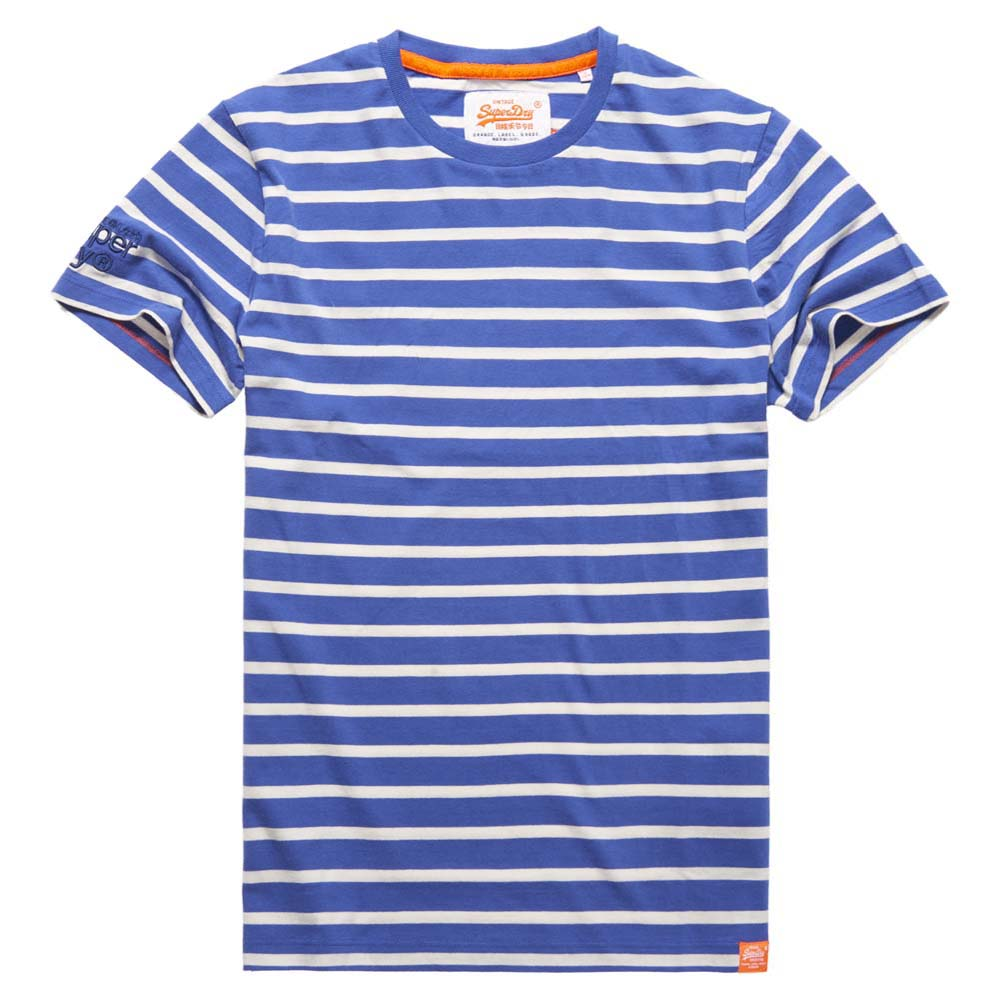 Superdry O L Classic Stripe Ss Tee