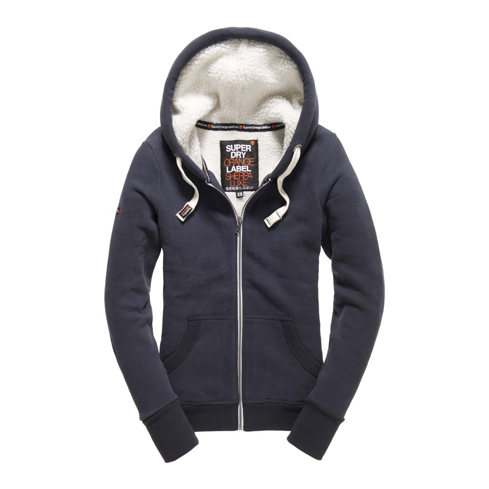 Superdry O L Luxe Sherpa Ziphood