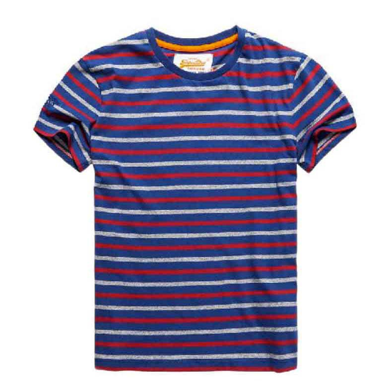 Superdry O L Multi Stripe Ss Tee