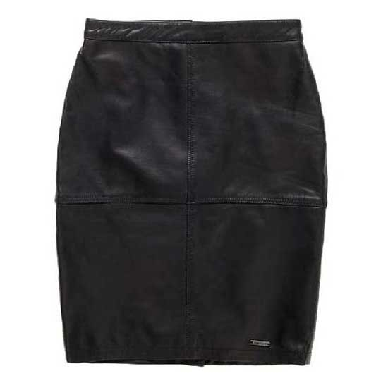 Superdry Selka Leather Pencil Skirt