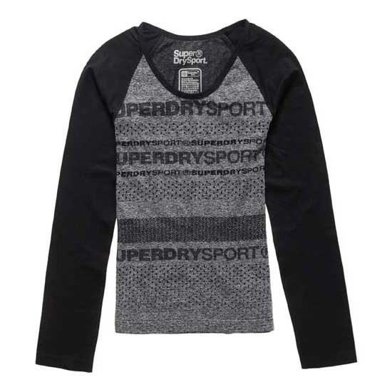 Superdry Gym Seamless Ls Top