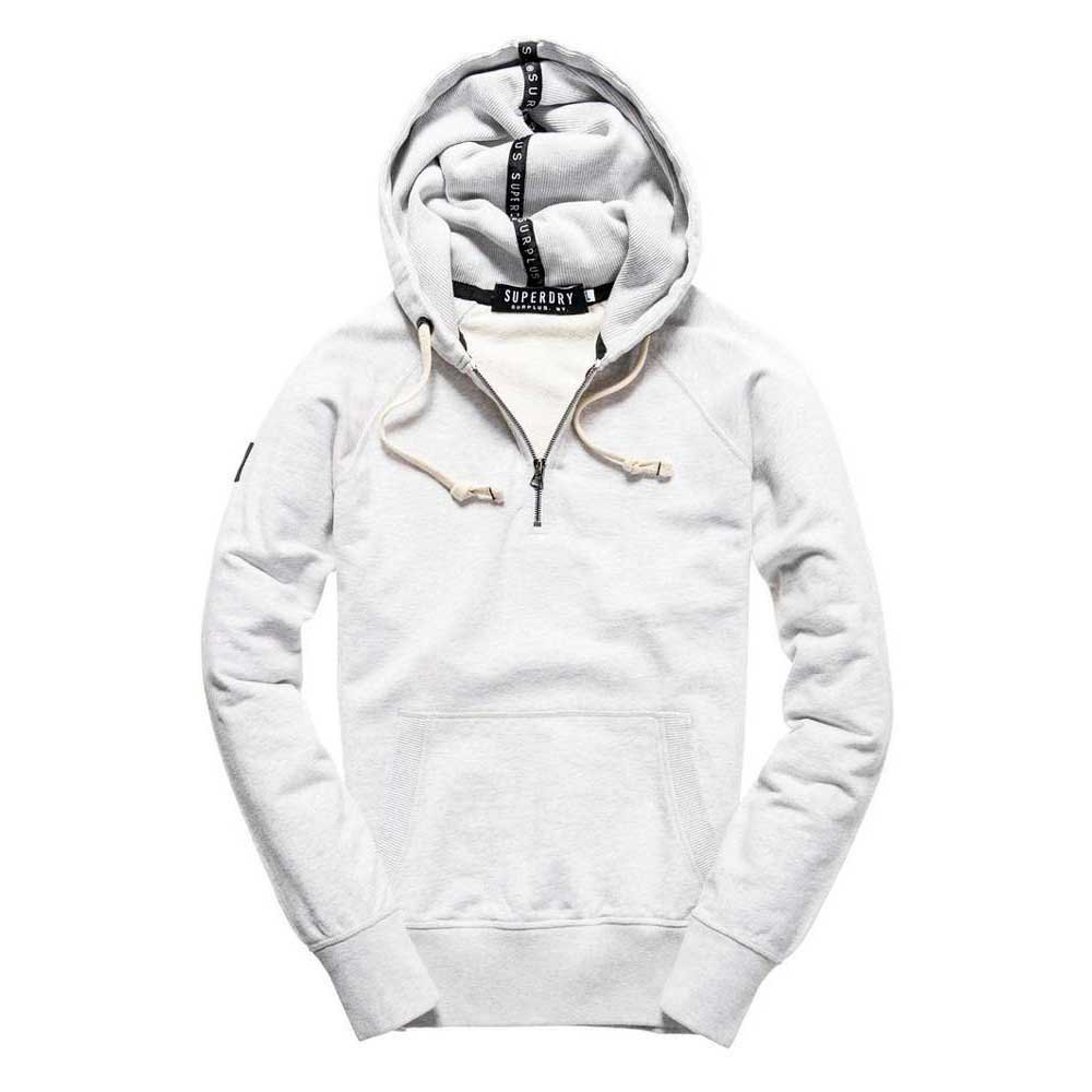 Superdry Surplus Goods Half Zip Hood