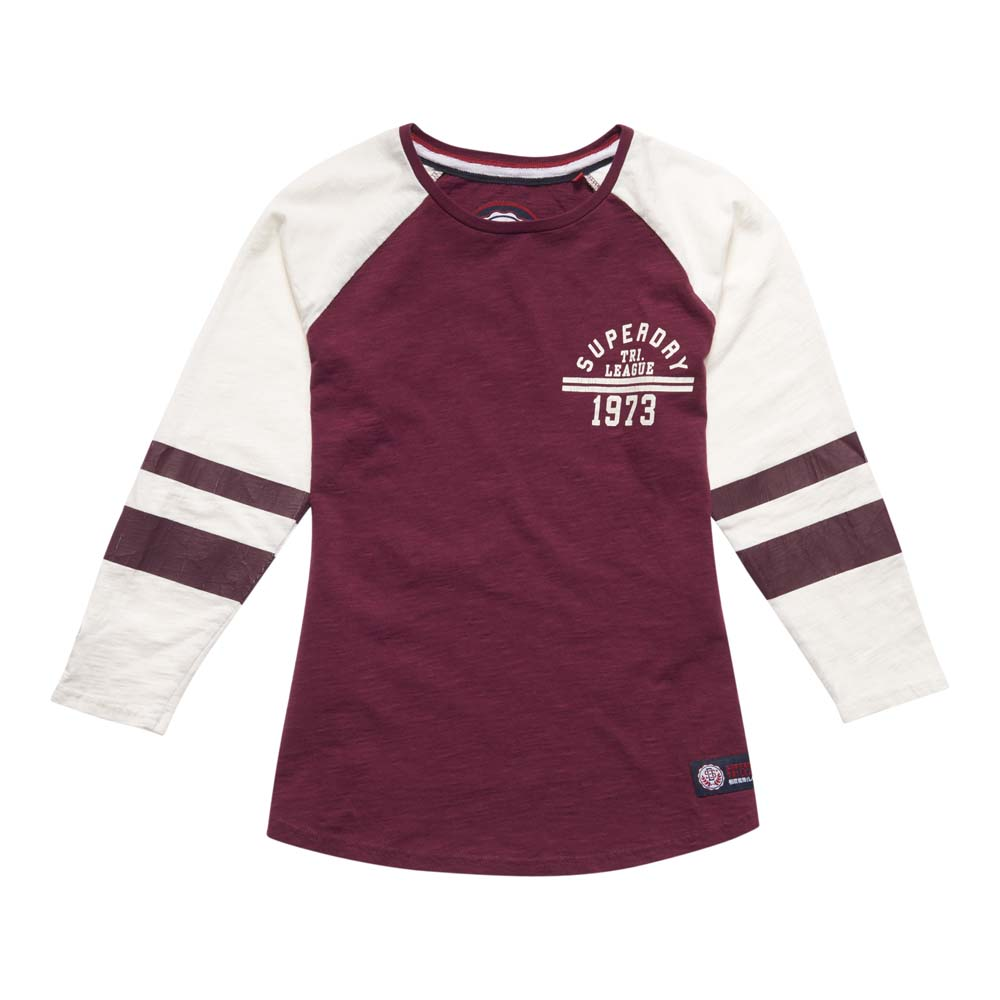 Superdry Tri League Raglan Block Tee