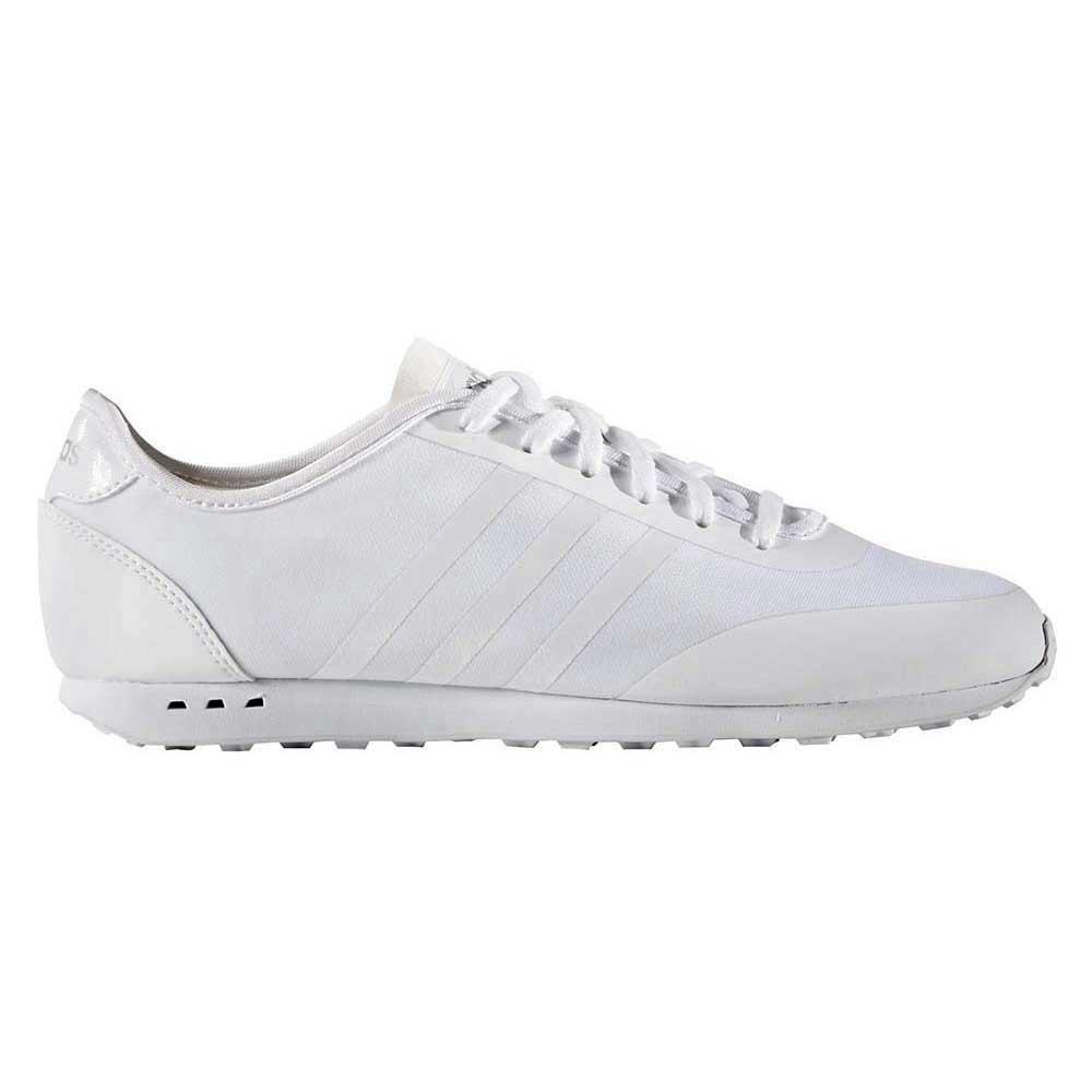 adidas stile racer tm ftwr bianco / ftwr bianco / granturco d'argento, dressinn