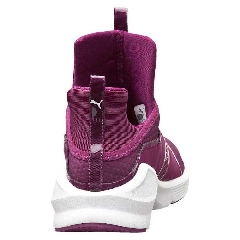 Puma Fierce Quilted Magenta   Purple   White 91bbdf342158