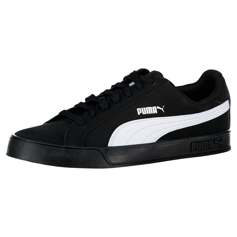 Puma Puma Smash Vulc Black buy and offers on Dressinn f2f7177db