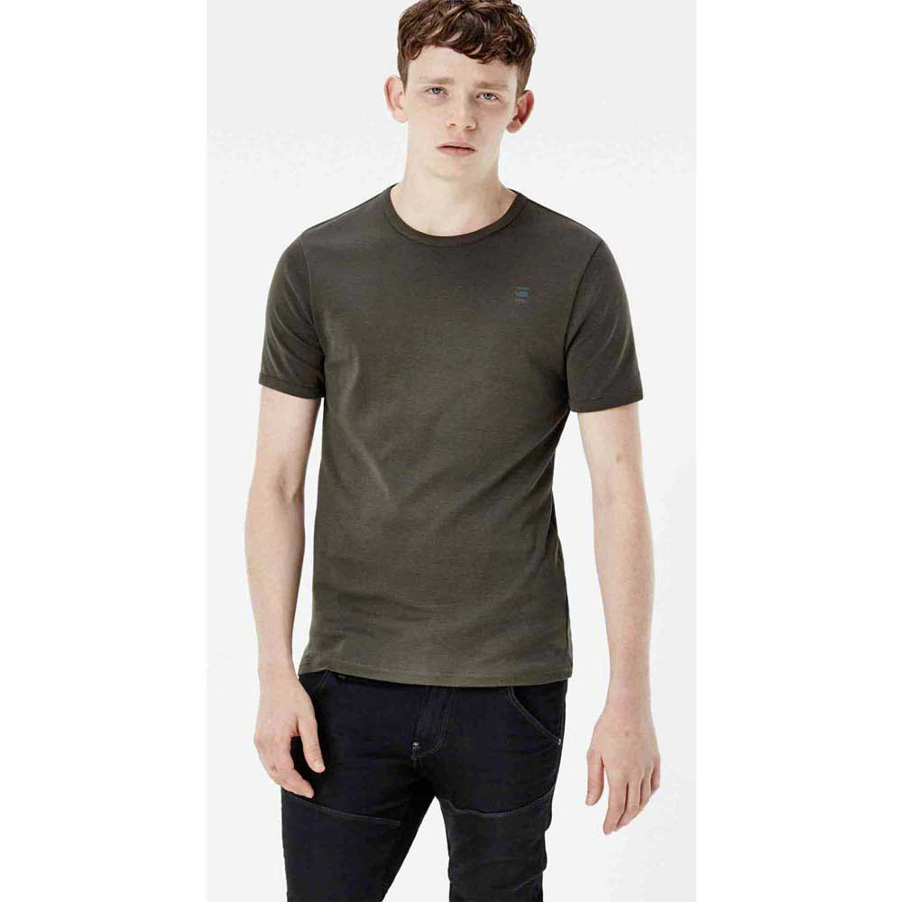 Gstar Basic T Shirt S/S 2 Pack