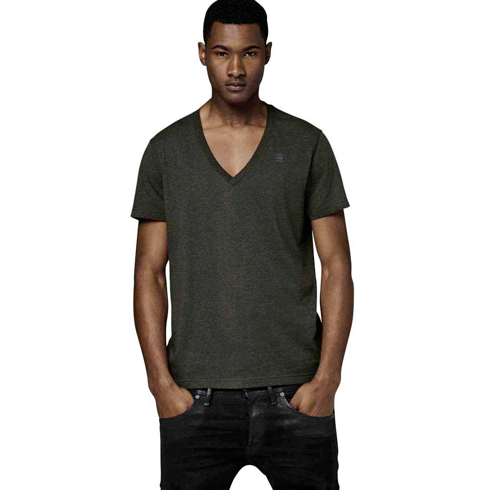 G-star Basic Heather T Shirt V Neck S/S 2 Pack
