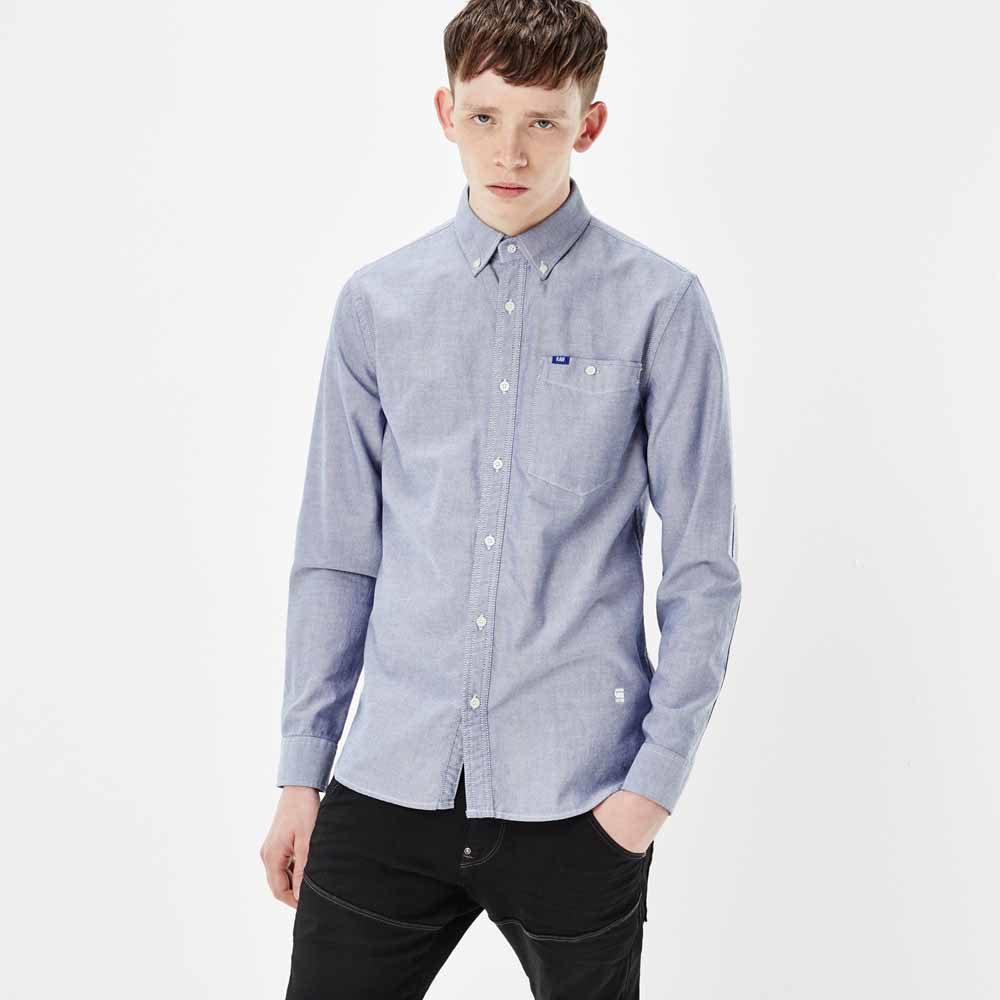 Gstar Oxford Button Down Shirt L/S