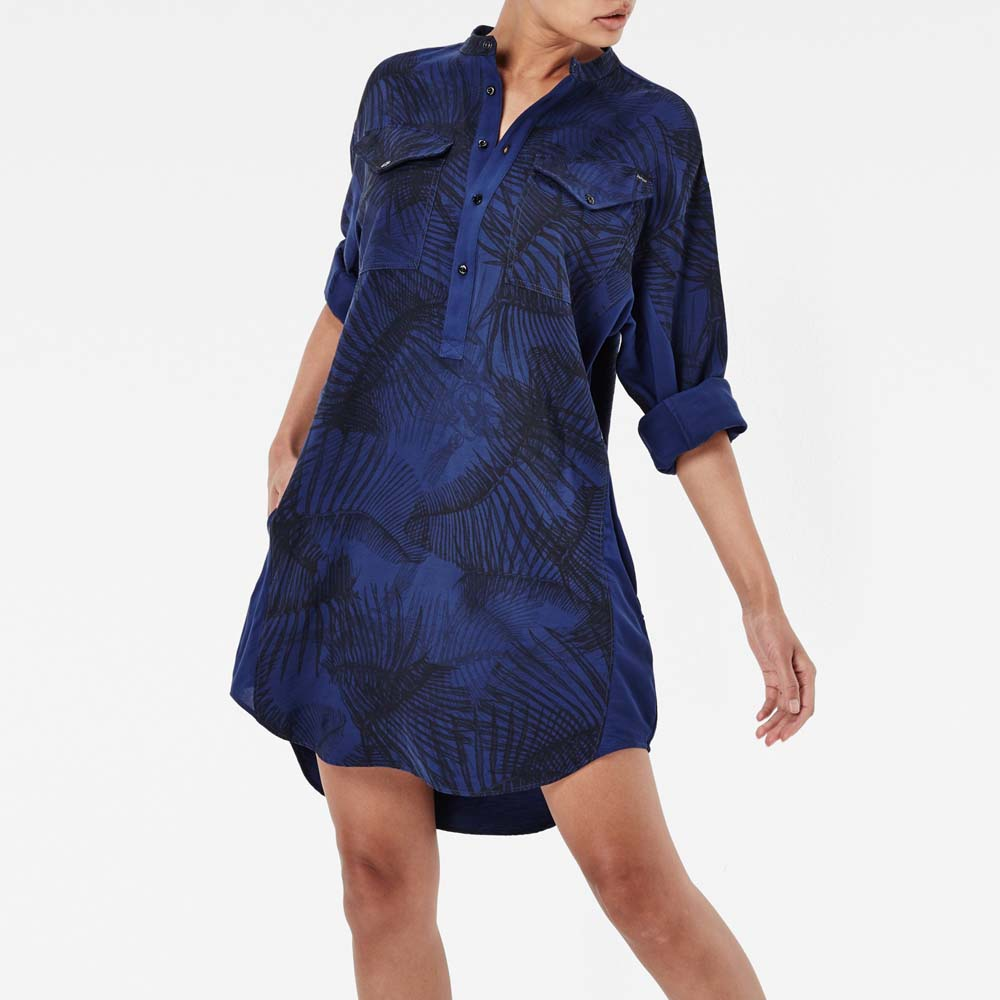 Gstar Rovic Boyfriend Shirt Dress