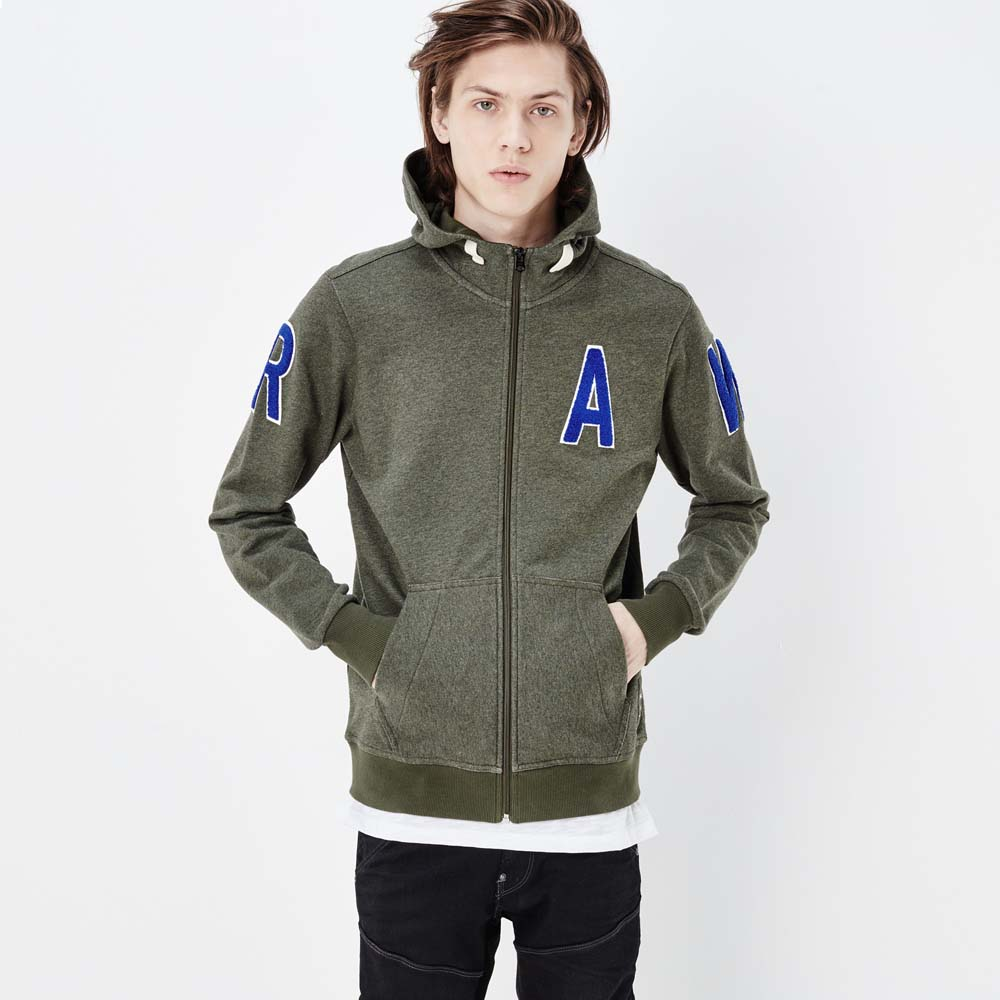 Gstar Warth Hooded Zip Sweater