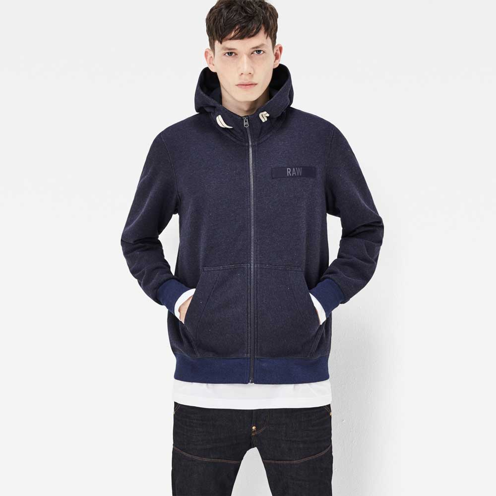 G-star Core Hooded Zip Sweater buy and offers on Dressinn