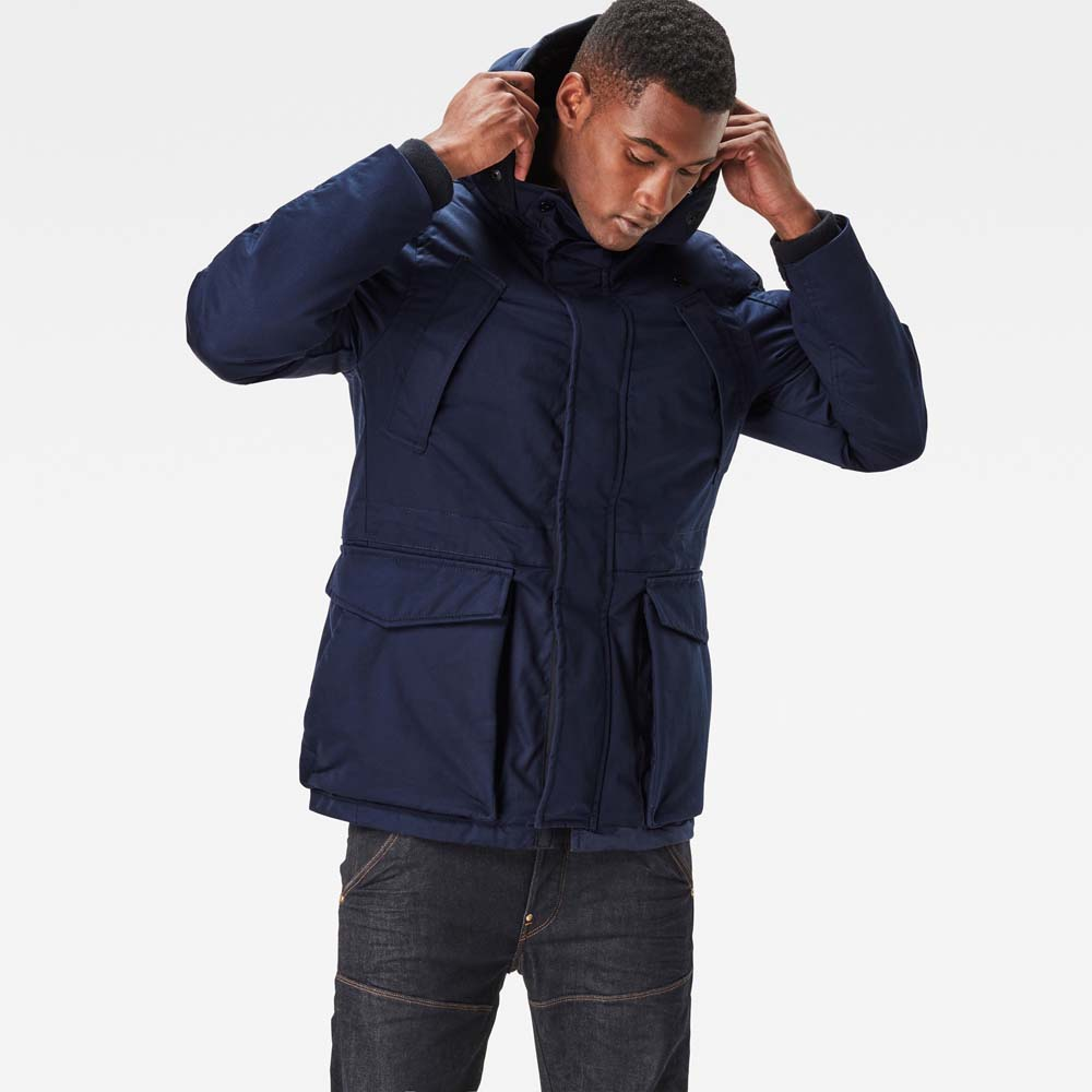 Gstar Expedic Hooded Down Jacket