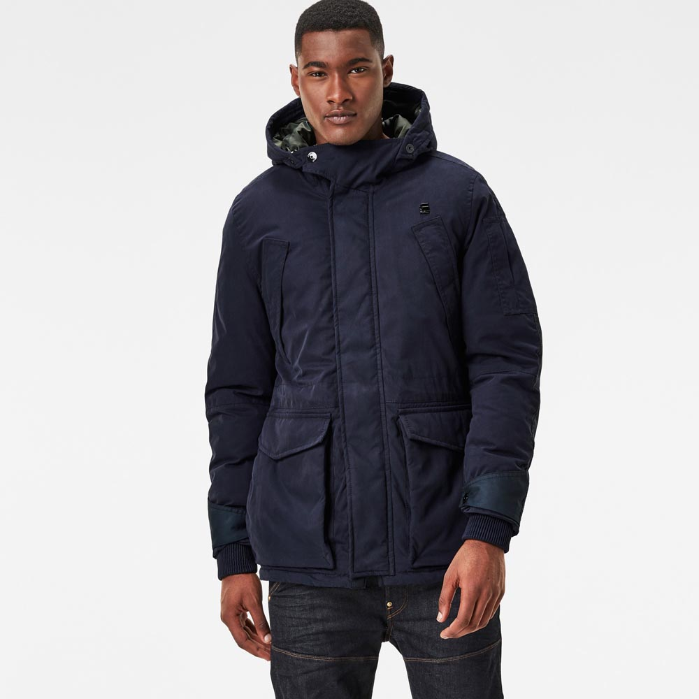 G-star Expedic Hooded Cotton Jacket