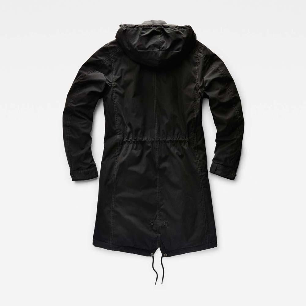 g star submarine hooded parka decon buy and offers on dressinn. Black Bedroom Furniture Sets. Home Design Ideas