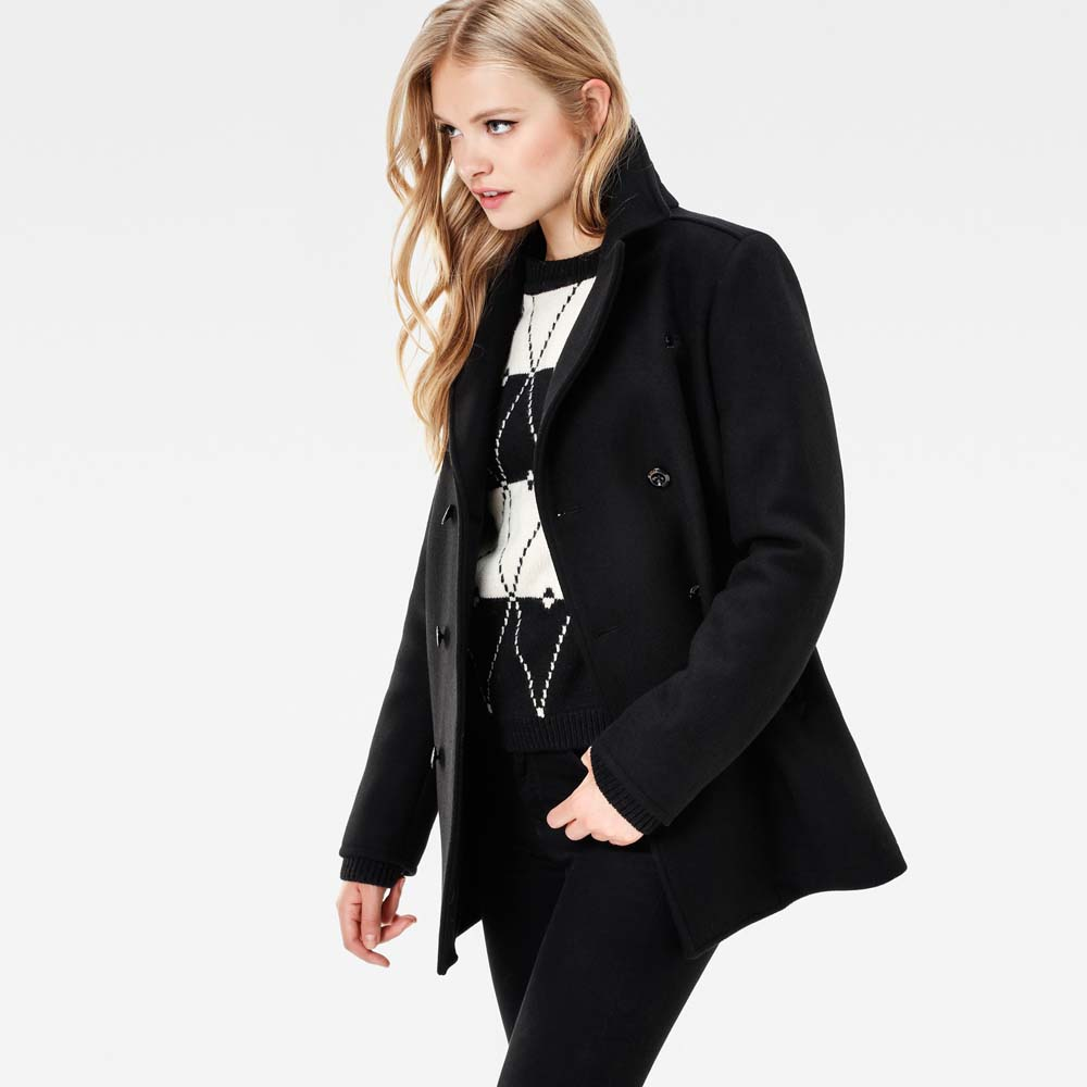 G-star Pea Wool Coat buy and offers on Dressinn