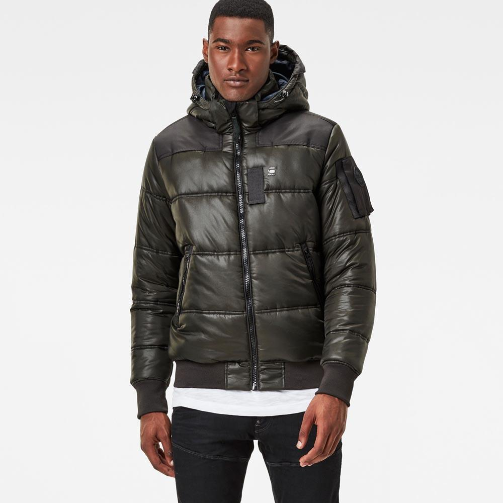 2019 factory price half off reliable quality Gstar Whistler Hooded Bomber buy and offers on Dressinn