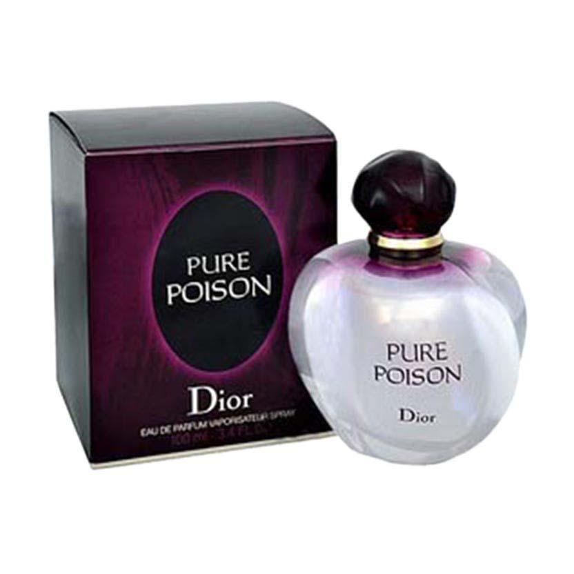 Dior Fragrances Pure Poison Eau De Parfum 100ml Clear Dressinn